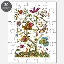 Tree of Life Jacobean Embroidery Puzzle
