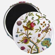 Tree of Life Jacobean Embroidery Magnet