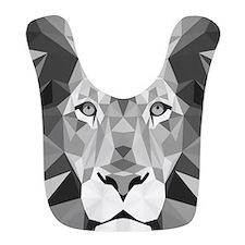 Gray Lion Bib