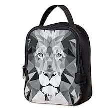 Gray Lion Neoprene Lunch Bag