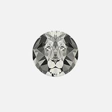 Gray Lion Mini Button (10 pack)