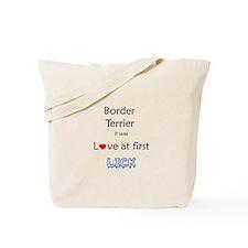 Border Terrier Lick Tote Bag