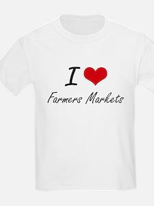 I love Farmers Markets T-Shirt