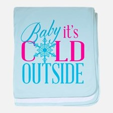 Baby it's Cold Outside baby blanket