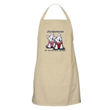 KiniArt Westie Rabbit Apron