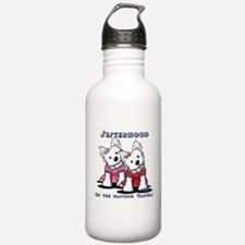 KiniArt Westie Rabbit Water Bottle