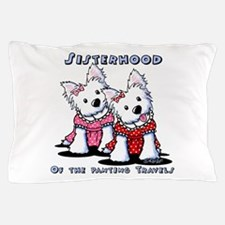 KiniArt Westie Rabbit Pillow Case