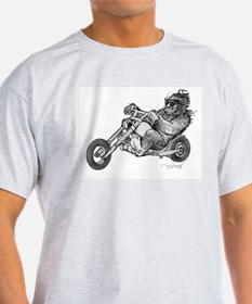 Bigfoot Easy Rider T-Shirt