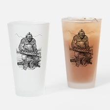 BFplaysdulcimer.jpg Drinking Glass