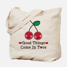 Good Things Cherry Twin Tote Bag