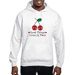 Good Things Cherry Twin Hooded Sweatshirt