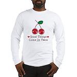 Good Things Cherry Twin Long Sleeve T-Shirt