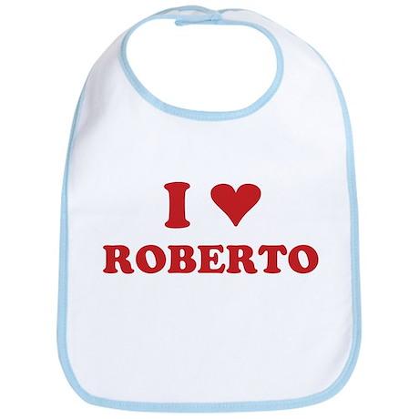 I LOVE ROBERTO Bib