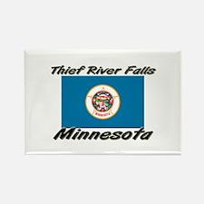 Thief River Falls Minnesota Rectangle Magnet