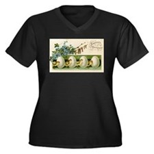 Old Russian Easter Card Plus Size T-Shirt