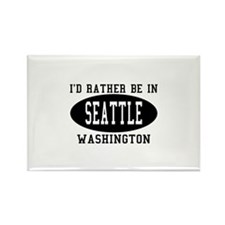 I'd Rather Be in Seattle, Was Rectangle Magnet