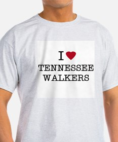 I Heart Tennessee Walkers Ash Grey T-Shirt