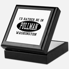 I'd Rather Be in Pullman, Was Keepsake Box