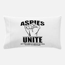 Aspies Unite Pillow Case
