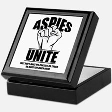 Aspies Unite Keepsake Box