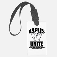 Aspies Unite Luggage Tag
