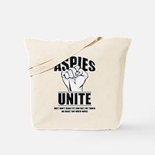 Aspies Unite Tote Bag