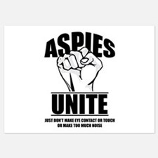 Aspies Unite Invitations