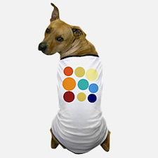 Cute Bright Polka Dots Fun Dog T-Shirt