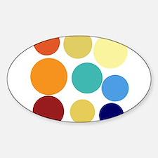 Cute Bright Polka Dots Fun Decal
