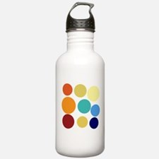 Cute Bright Polka Dots Water Bottle