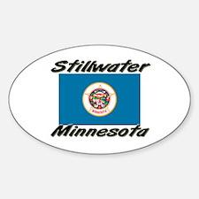 Stillwater Minnesota Oval Decal