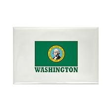 Washington Rectangle Magnet