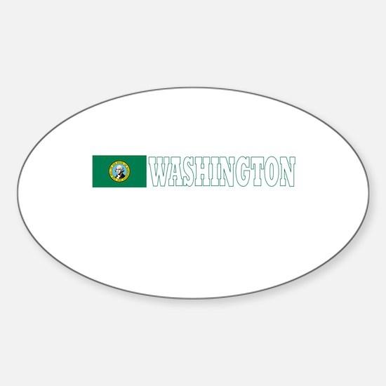 Washington Oval Decal