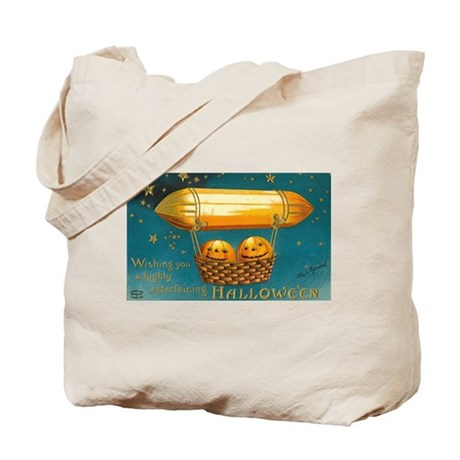 Flying Pumpkins Tote Bag