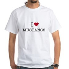 I Heart Mustangs Shirt