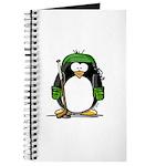 Green Hockey Penguin Journal