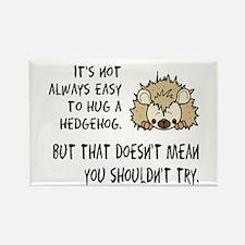 Cute Hedgehog Rectangle Magnet