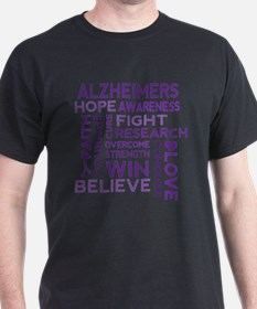 Cute Alzheimers awareness T-Shirt