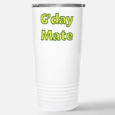 G'day Mate Stainless Steel Travel Mug