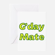 G'day Mate Greeting Cards