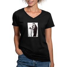 Beardsley Boys Women's V-Neck Grey T-Shirt