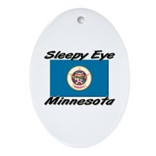 Sleepy Eye Minnesota Oval Ornament