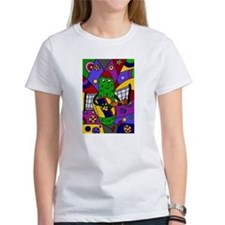 Pickleball Abstract T-Shirt