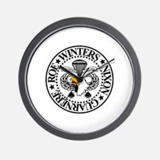 Band of Brothers Crest Wall Clock