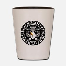 Band of Brothers Crest Shot Glass
