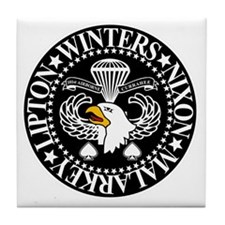 Band of Brothers Crest Tile Coaster