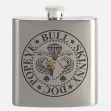Band of Brothers Crest Flask