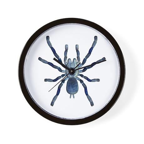 Cobalt BlueTarantula Wall Clock