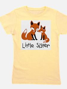 Little Sister - Fox Girl's Tee