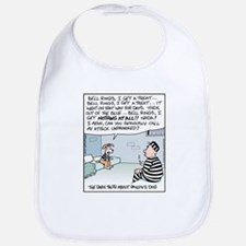 Pavlov's Dog in Jail Bib